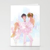 johannathemad Stationery Cards featuring they got married by JohannaTheMad