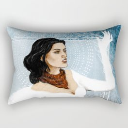 Dragon Age 2 - Bethany Hawke - Purity Rectangular Pillow