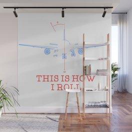 Pilot Airplane Gift Wall Mural