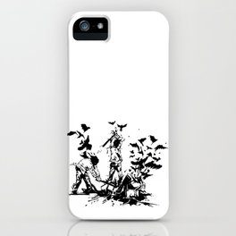 Famous also Fade iPhone Case