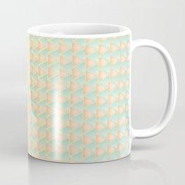 Offset Rainbow Triangles Coffee Mug