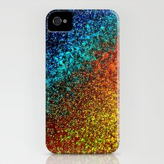 WATER - NOT real Glitter Slim Case iPhone (4, 4s)