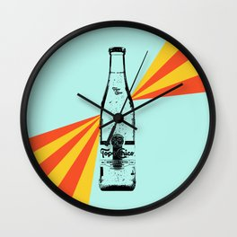 Topo Chico Retro Pop Art Wall Clock