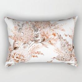 Watercolour Flowers II Rectangular Pillow