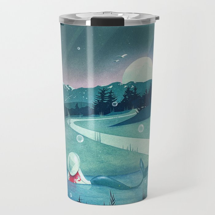A Mermaid's Dream Travel Mug