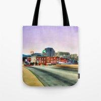virginia Tote Bags featuring Roanoke Virginia by ThePhotoGuyDarren