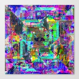 For when the segmentation resounds, abundantly. 01 Canvas Print