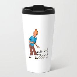 The Adventure of Tintin Travel Mug