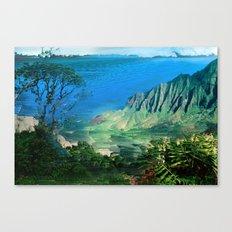 The Glitch Escape Canvas Print