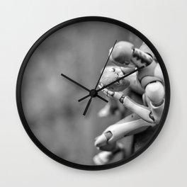 darkside inside of us Wall Clock