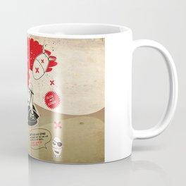 Duck and Cover Propaganda  Coffee Mug