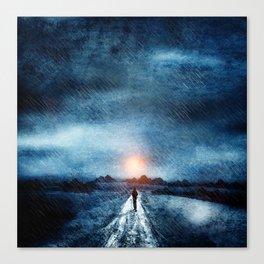 it's raining again Canvas Print