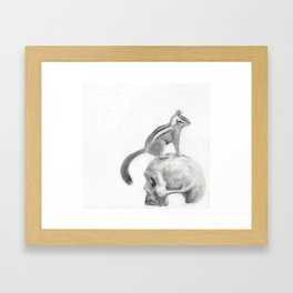 The meek are gonna be so pissed. Framed Art Print