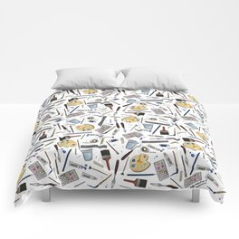 Painter's Supplies - Clear Comforters