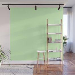 Simply Green Tea Green Wall Mural