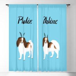 Phalène (Blue) Blackout Curtain