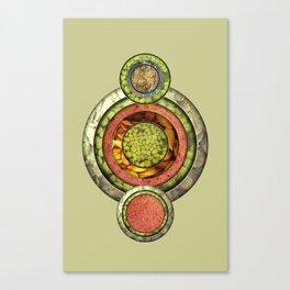 Tris Food Canvas Print
