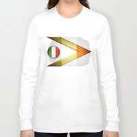 italy Long Sleeve T-shirts featuring Italy by ilustrarte