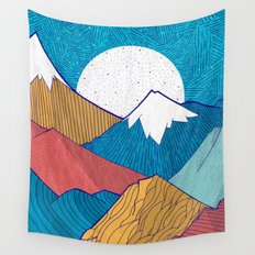 The Crosshatch Sky Wall Tapestry