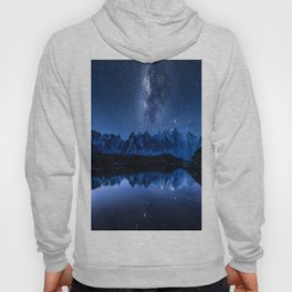 Night mountains Hoody