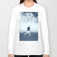 run Long Sleeve T-shirts featuring run by habish