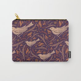Thrush And Foliage II Carry-All Pouch