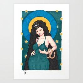 Goddess Astarte Art Print