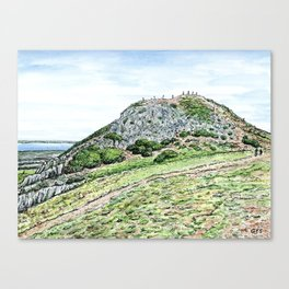 Arthur's Seat, Edinburgh Canvas Print