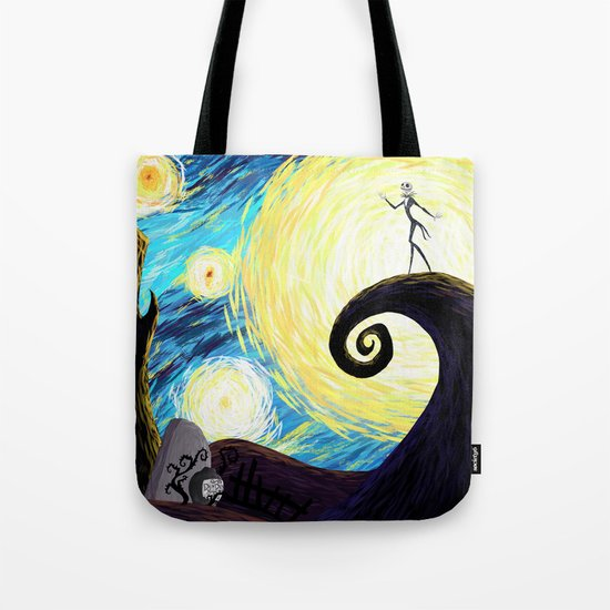 Starry Nightmare Tote Bag