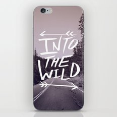 Into the Wild iPhone & iPod Skin