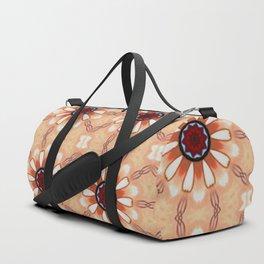Flowers Mandala Pattern Duffle Bag