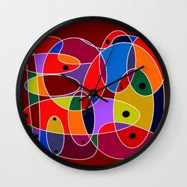 Abstract #77 Wall Clock