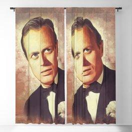 Richard Widmark, Hollywood Legend Blackout Curtain