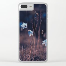 Sapphirine dusk Clear iPhone Case