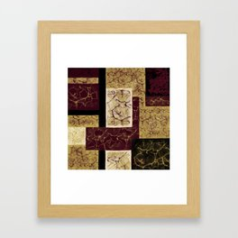 Crackle2 Framed Art Print