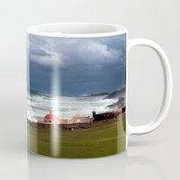 puerto rico Mugs featuring San Juan, Puerto Rico by Eleanor Kipping