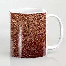 Leather Texture (Dark Brown) Coffee Mug