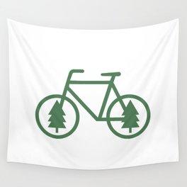 Pacific Northwest Cycling - Bike, Bicycle, Portland, PDX, Seattle, Washington, Oregon, Portlandia Wall Tapestry