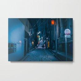 Shibuyascapes at Snowy Night -backalley- Metal Print