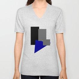 Colorblock #1 Unisex V-Neck