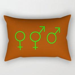 Symbol of Transgender 58 Rectangular Pillow