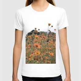 Flowers! Orange! Nature! T-shirt