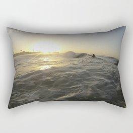 Seal Beach Bodyboarder Rectangular Pillow