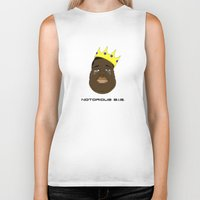 notorious big Biker Tanks featuring Notorious B.I.G. by ΛDX7