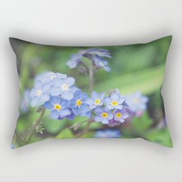 Forget-Me-Nots 2 Rectangular Pillow