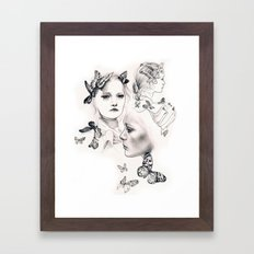Gemma Ward Framed Art Print