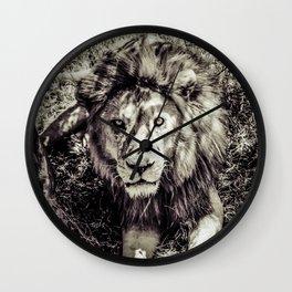 Mufasa stares back Wall Clock