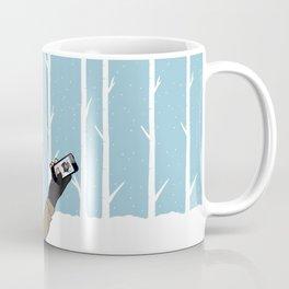 sledding. wish you were here.  Coffee Mug