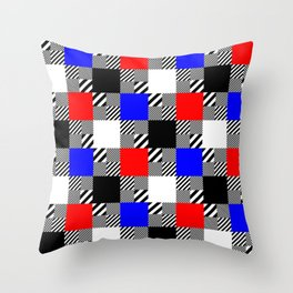 Boards of Reality Throw Pillow