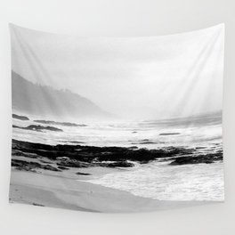 Against the Rocks Wall Tapestry